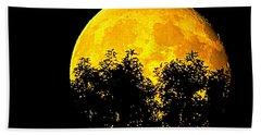 Shadows In The Moon Beach Sheet