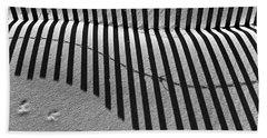 Shadows In The Sand Beach Towel