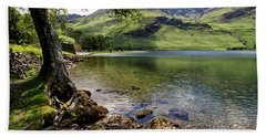 Shady Rest At Buttermere Beach Towel