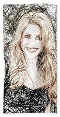 Shakira Beach Towel by Raina Shah