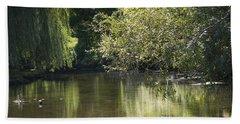 Shallow River Beach Sheet by Tara Lynn