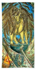 Shaman Spirit Beach Towel