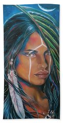 Shamanic Feelher Beach Towel