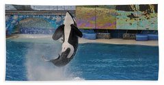 Shamu Splash Beach Towel