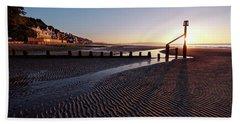 Shanklin Beach Beach Towel