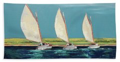 Shared Tack Beach Towel