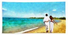 Sharing The Journey Beach Sheet