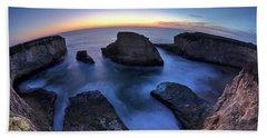 Shark Fin Cove Beach Towel