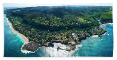 Sharks Cove Overview. Beach Towel
