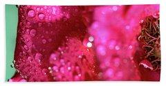 Sharp Wet Rose Beach Sheet