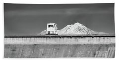 Shasta Dam  Beach Towel