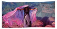 She Danced By The Light Of The Moon Beach Towel
