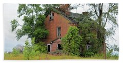 Sheffield House Panorama Beach Towel by Bonfire Photography