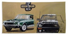 Shelby 40th Anniversary Beach Towel