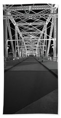 Shelby Bridge Bw Beach Sheet