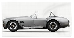 Shelby Cobra 427 Sc 1965 Beach Sheet by Mark Rogan