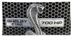 Shelby F150 Truck Emblem Beach Towel