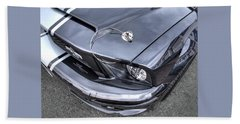 Shelby Super Snake At The Ace Cafe London Beach Towel