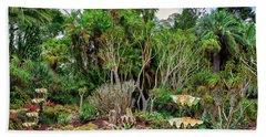 Shell Garden Beach Towel by Joseph Hollingsworth