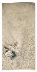 Beach Towel featuring the photograph Shell On Beach Alabama  by John McGraw