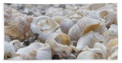 Shells 3 Beach Towel