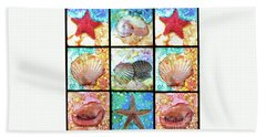 Shells X 9 Beach Towel