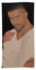Shemar Moore Beach Towel