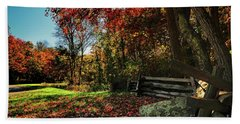 Shenandoah Fall Beach Towel