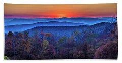 Shenandoah Valley Sunset Beach Towel