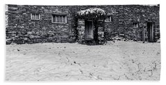 Beach Towel featuring the photograph Shepherds Cottage by Keith Elliott