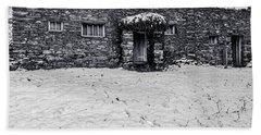 Shepherds Cottage Beach Towel by Keith Elliott