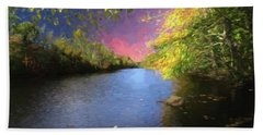 Shetucket River Ct. Beach Towel