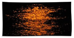 Beach Towel featuring the photograph Shimmer by Linda Hollis