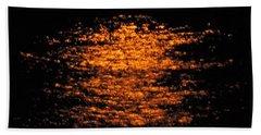 Shimmer Beach Towel by Linda Hollis