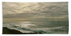 Shimmery  Light Beach Sheet by Sheila Ping