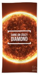 Shine On Crazy Diamond Beach Towel