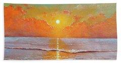 Shine Silently Beach Towel