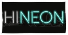 Shineonu - Neon Sign 1 Beach Sheet