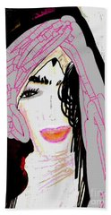 Shining Star Beach Towel by Ann Calvo