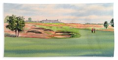 Shinnecock Hills Golf Course Beach Towel
