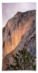 Shiny Horsetail Falls Beach Towel