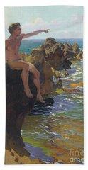 Ship Ahoy Beach Towel