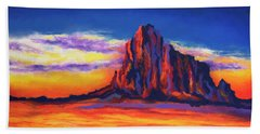 Shiprock Mountain Beach Sheet