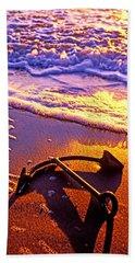 Ships Anchor On Beach Beach Towel