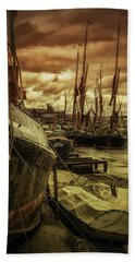 Ships From Essex Maldon Estuary Beach Sheet