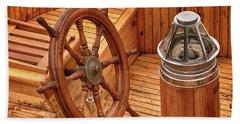 Wheel And Compass Beach Sheet