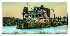 Shipwreck - Mary D. Hume Beach Towel