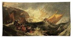 Shipwreck Of The Minotaur Beach Towel