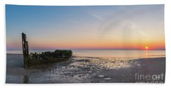 Shipwreck Panorama  Beach Towel