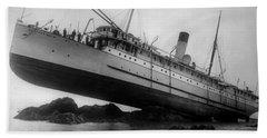 Shipwreck - Ss Princess May - August 5, 1910 Beach Towel